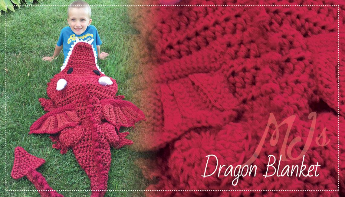 Dragon Blanket Mjs Off The Hook Designs