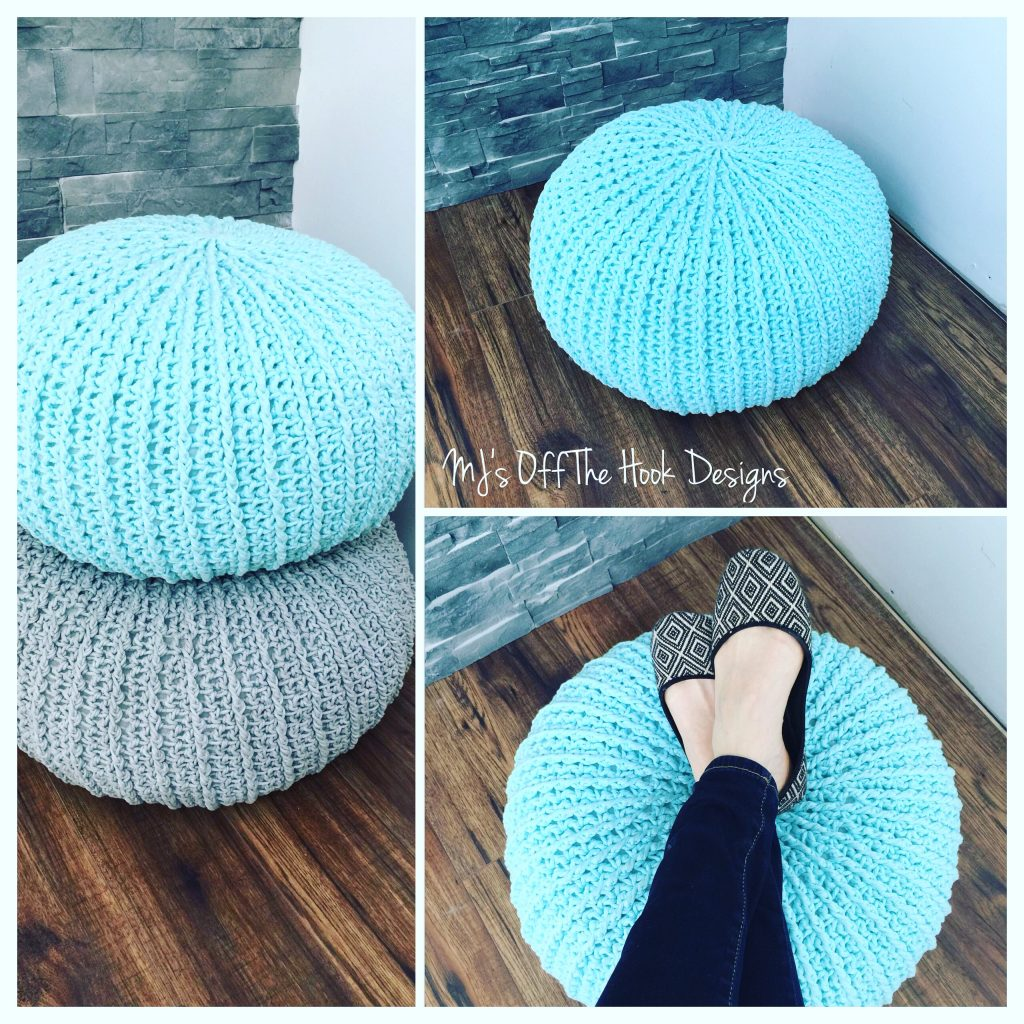 I absolutely love these popular floor poufs!! I've even been tempted to buy  one! Of course I knew I could make my own and pick the colours I wanted for  my ...