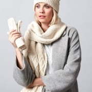 Ladder And Lace Scarf Set