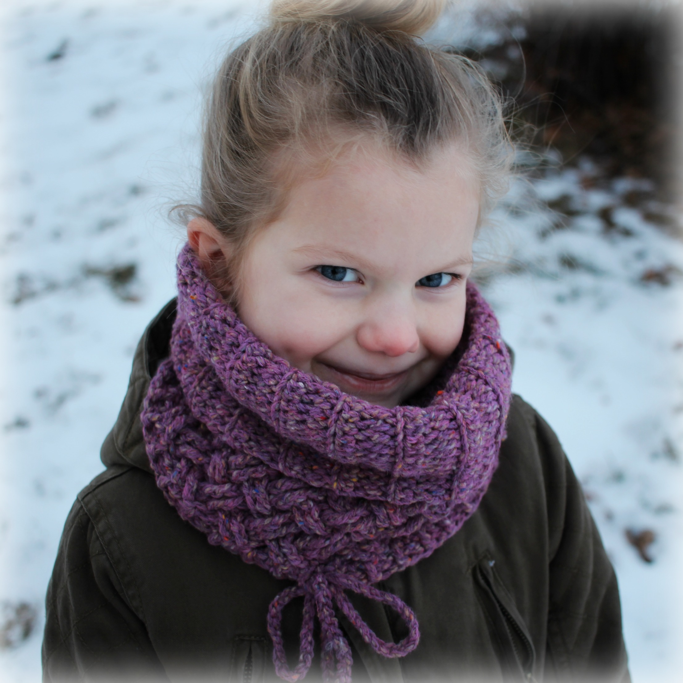 Is it a Cowl? Is it a Hat? Crochet Kit - MJ\'s off the Hook Designs
