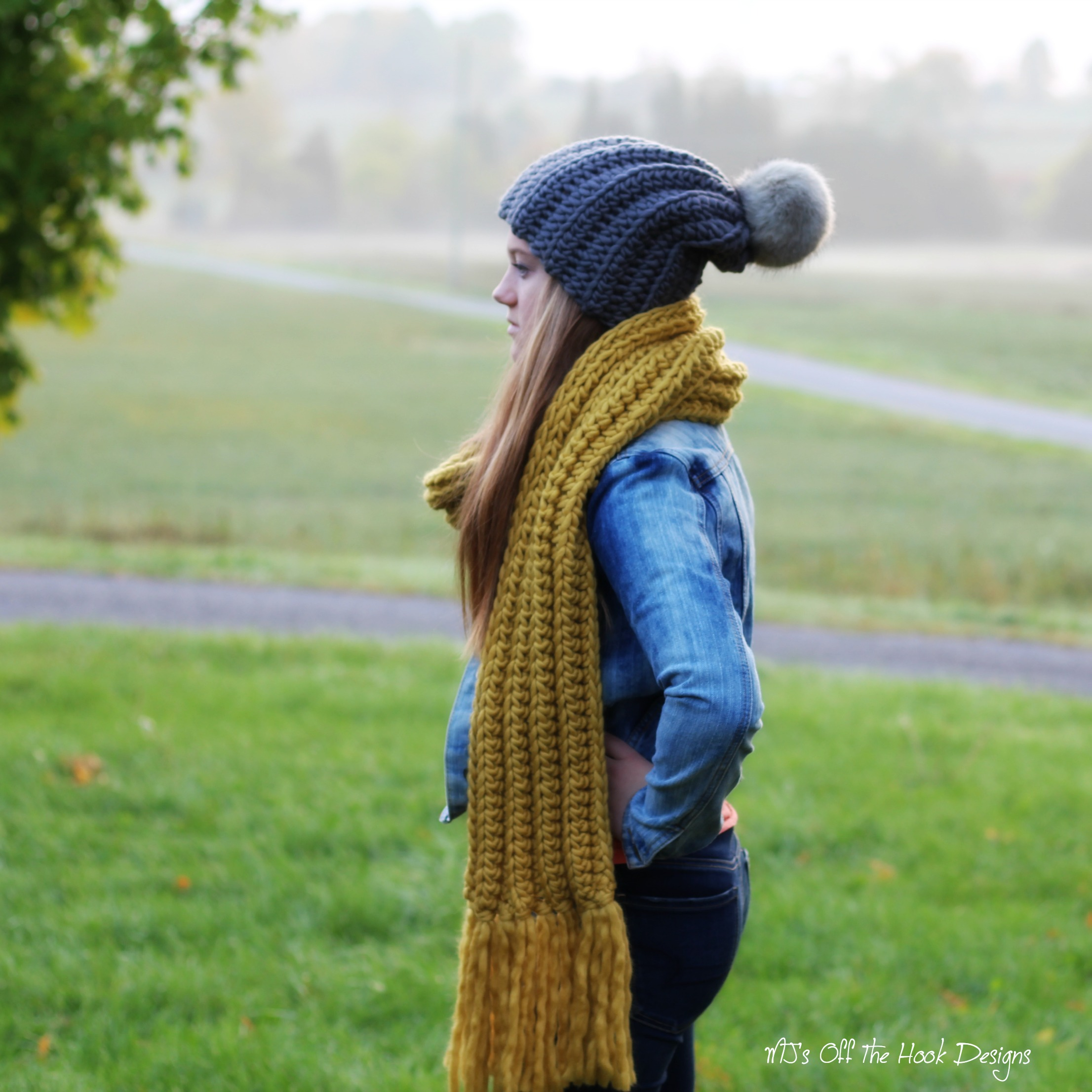 Simply Chill Hat and Scarf Kit