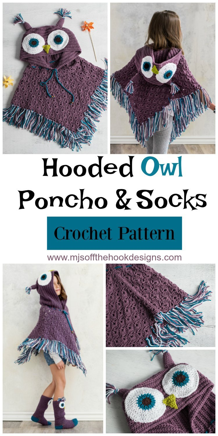 Hooded Poncho Pattern New Decorating