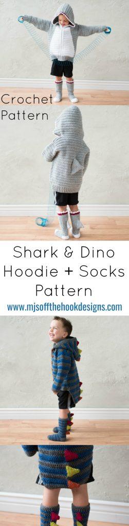 PicMonkey shark and dino