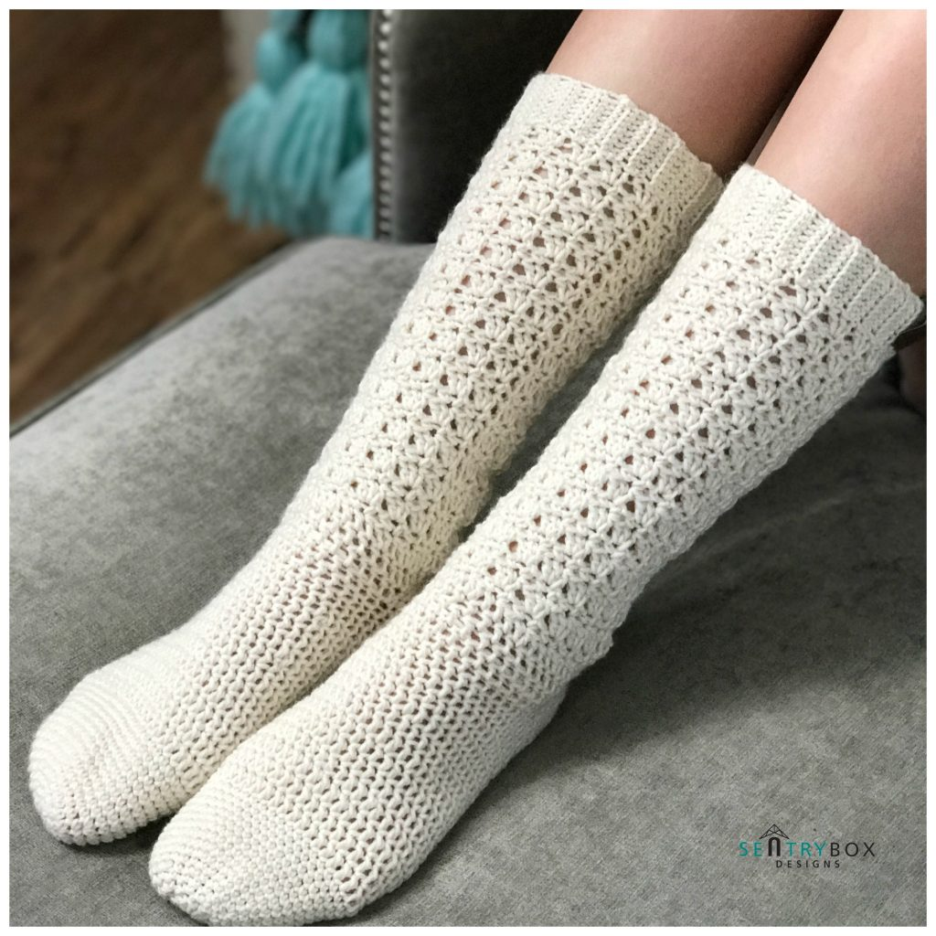 Crochet Socks Are Life Mjs Off The Hook Designs