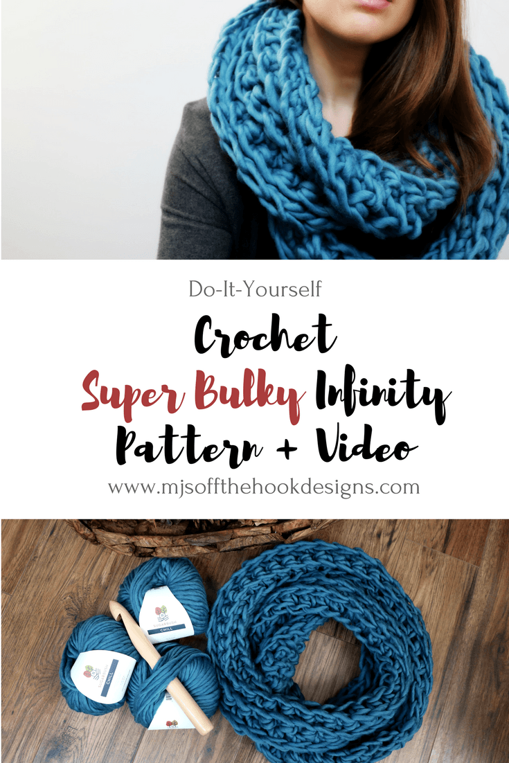 FREE Super Bulky Ribbed Infinity Scarf - MJ\'s off the Hook Designs