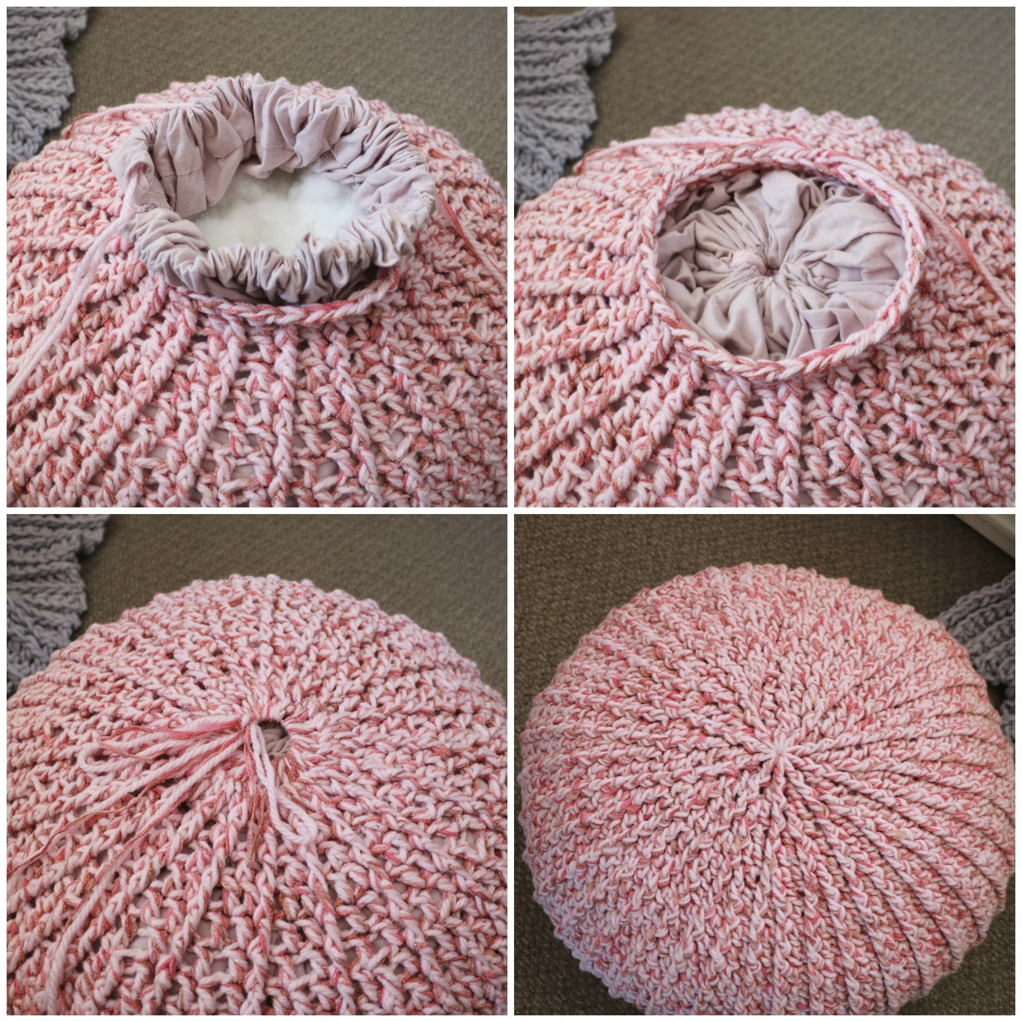 Surprising Free Crochet Floor Pouf Tutorial Mjs Off The Hook Designs Pdpeps Interior Chair Design Pdpepsorg