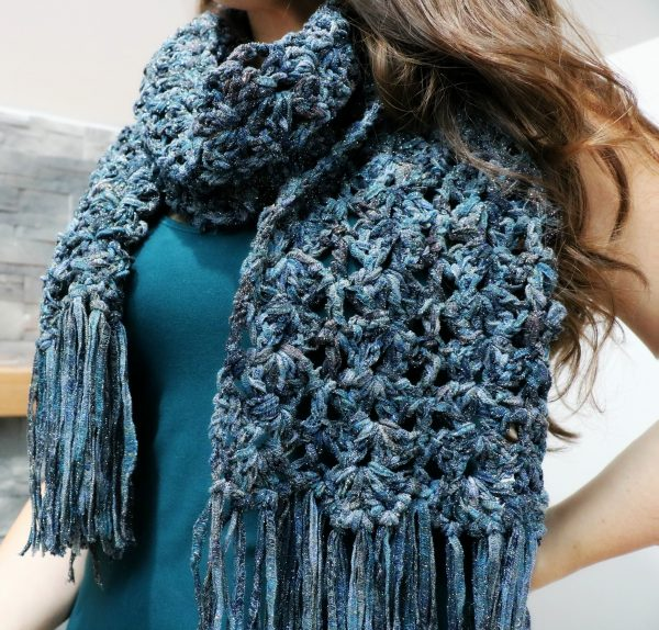 sparkly scarf