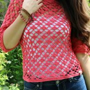 Lace Pullover Front closeup