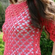 Lace Pullover front side
