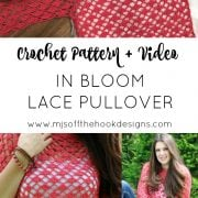 Lace Pullover pin