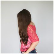Lace pullover side