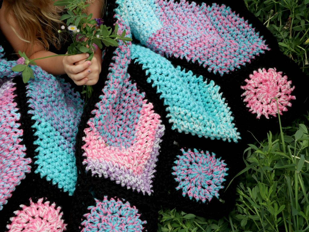 How to Crochet a Butterfly Blanket - MJ's off the Hook Designs