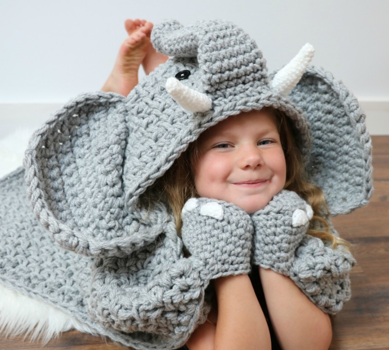 Crochet Elephant Edging Free Pattern & Tutorial | Styles Idea | 720x800