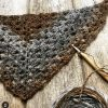 Twisted Tan shawl1