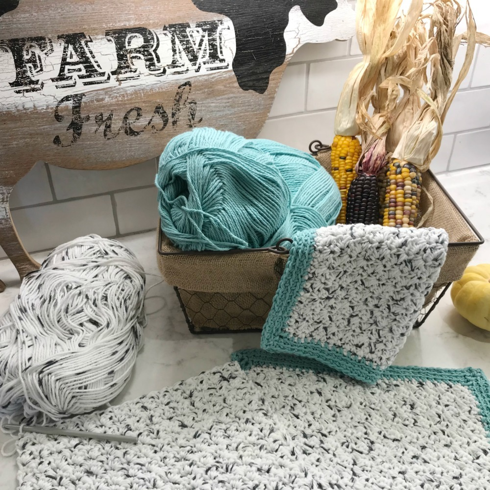 Free Rustic Farmhouse Dishcloth Pattern Mjs Off The Hook Designs