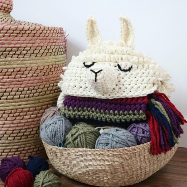 Alpaca My Llama Blanket Crochet Pattern Mjs Off The Hook Designs