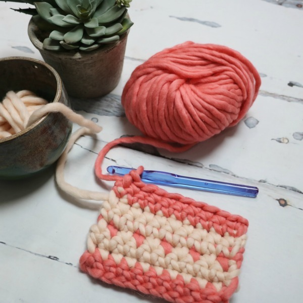 change color in crochet