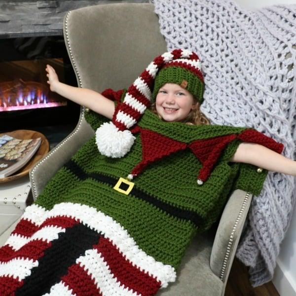 Christmas Elf blanket