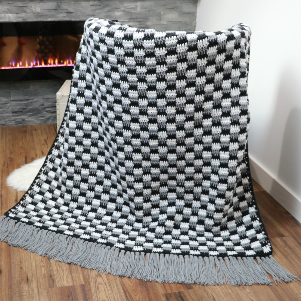 Crochet Blanket 10Mm Hook