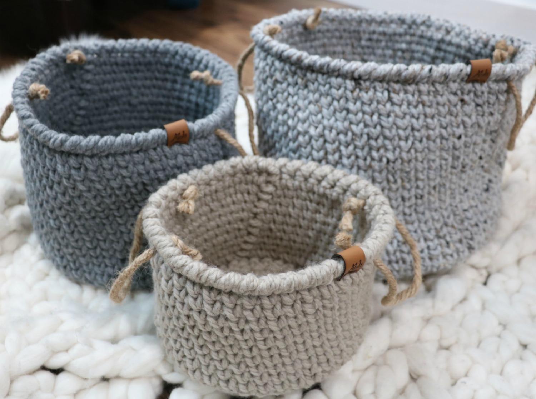 Rustic Farmhouse Style Basket