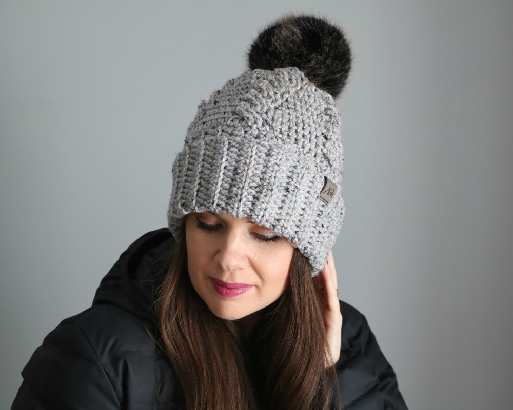 Crochet Cabled Hat