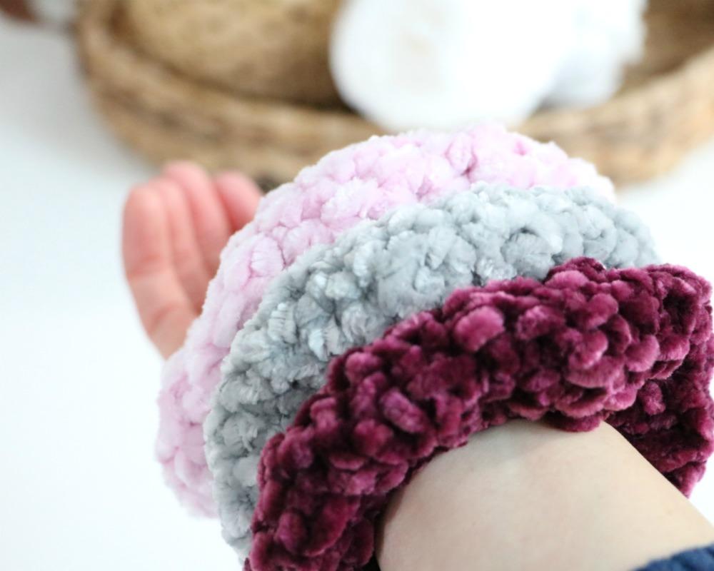 Crochet Scrunchie Pattern