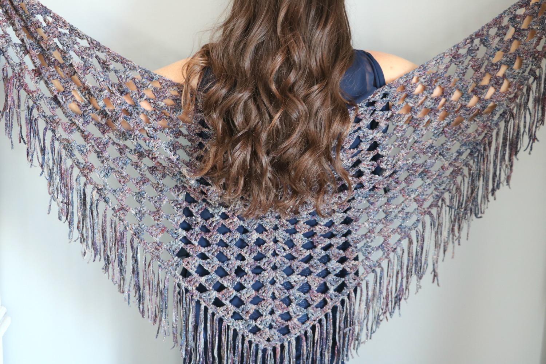 shimmer shawl E