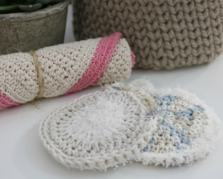 Crochet Bath Scrubbie pattern