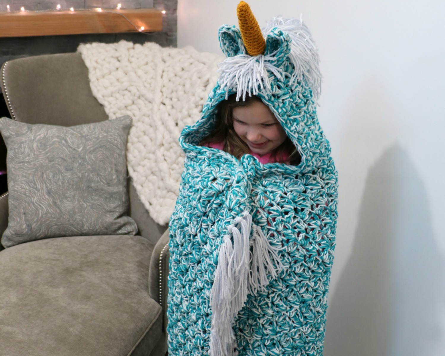 Budget Friendly Unicorn Blanket
