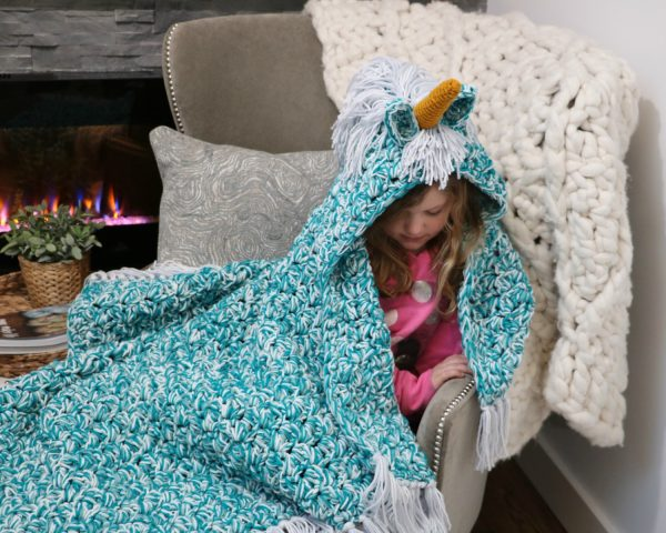unicorn blanket W8
