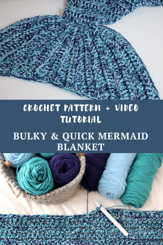 Bulky & Quick Mermaid Blanket