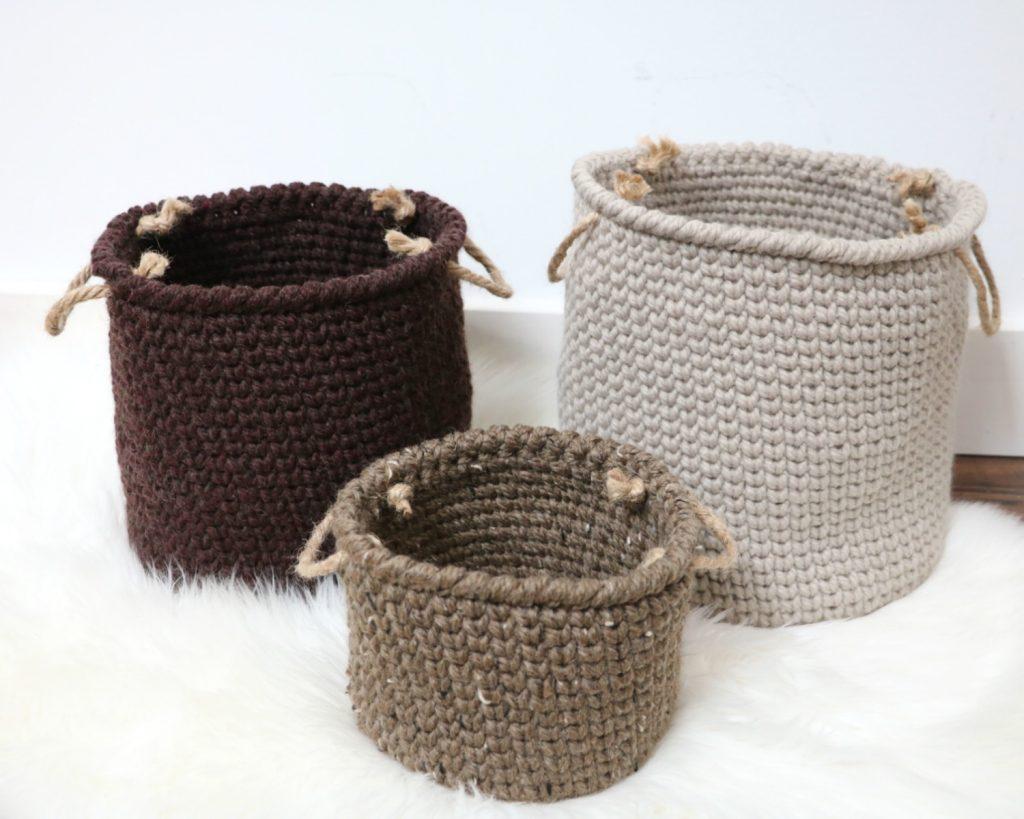 Rustic Farmhouse baskets