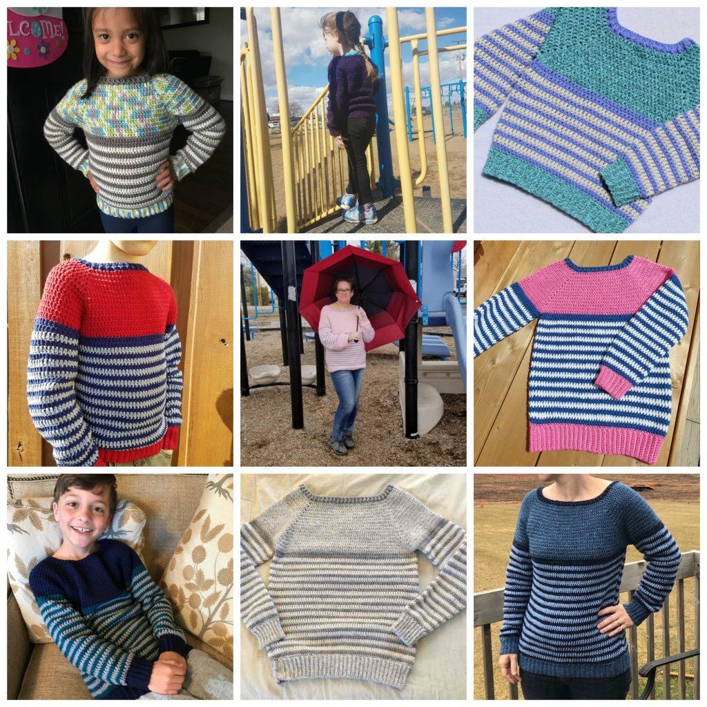 So Soft Stripes Raglan Pullover