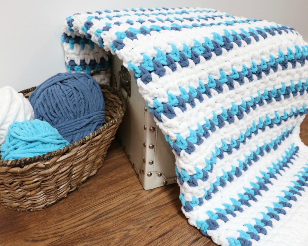 Seaside Cuddles Baby Blanket
