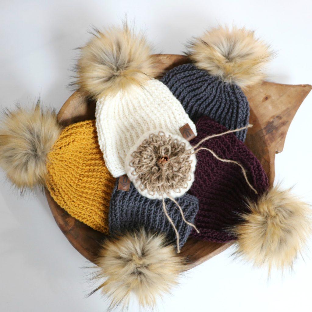 Crochet Modern Lines Beanie