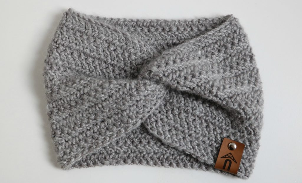 Herringbone Twist Ear Warmer