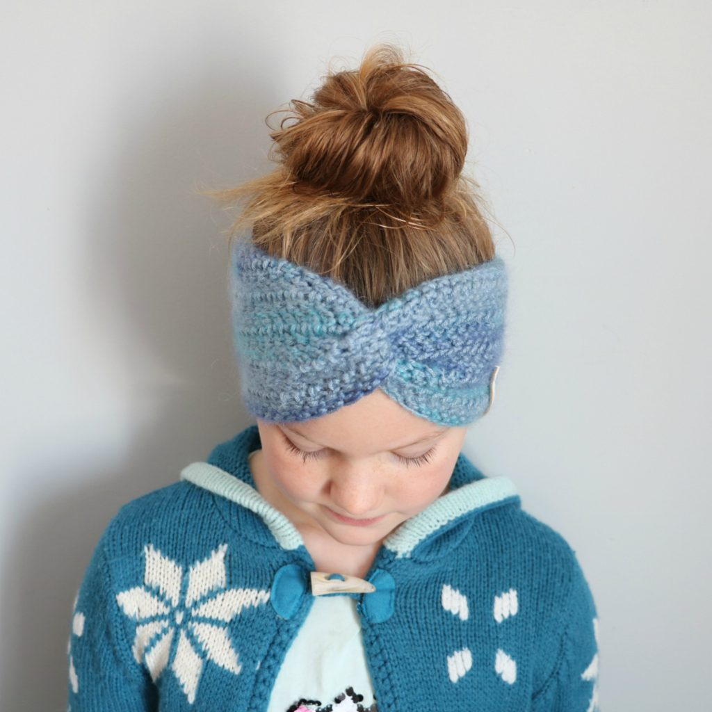 child size ear warmer