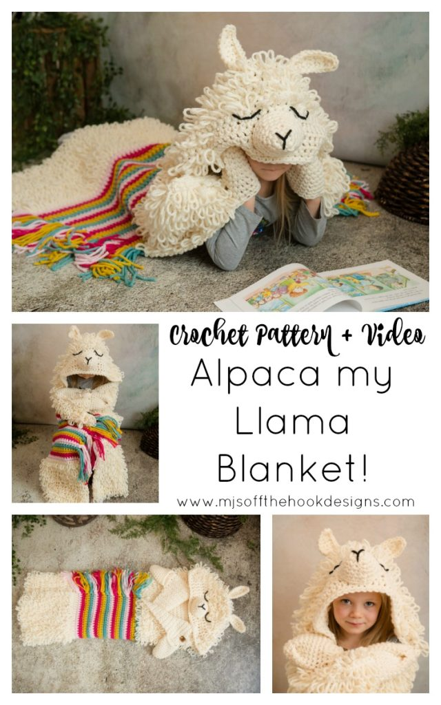Alpaca my llama blanket