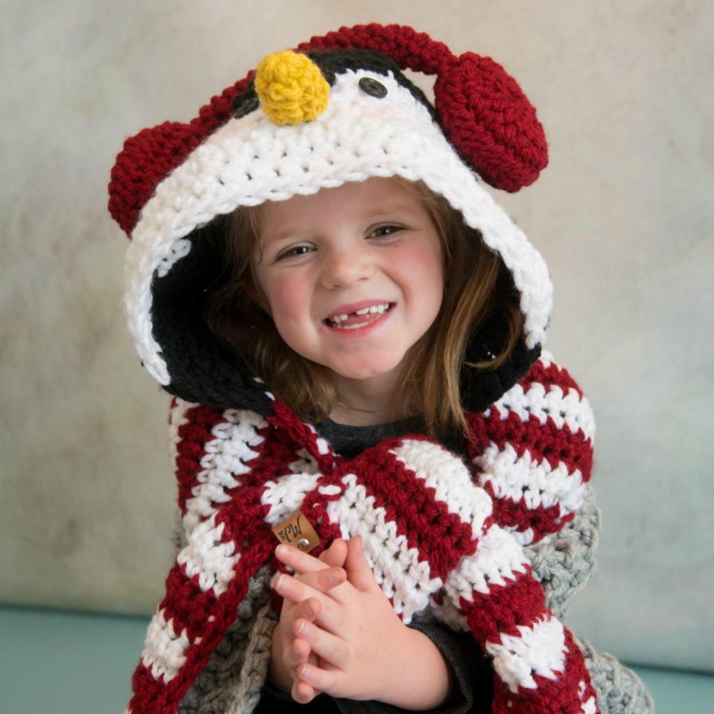 Crochet Penguin Blanket