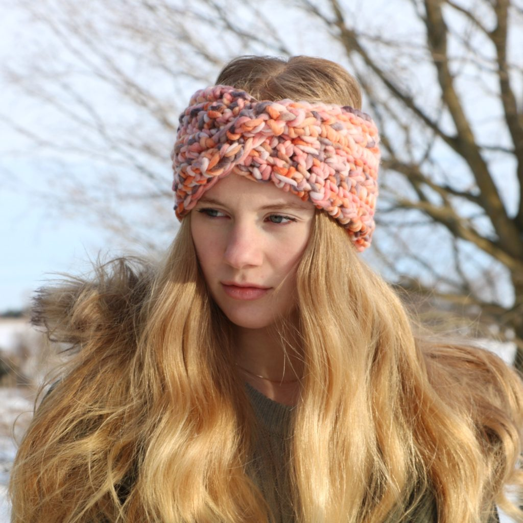 Glacier Twist Headband