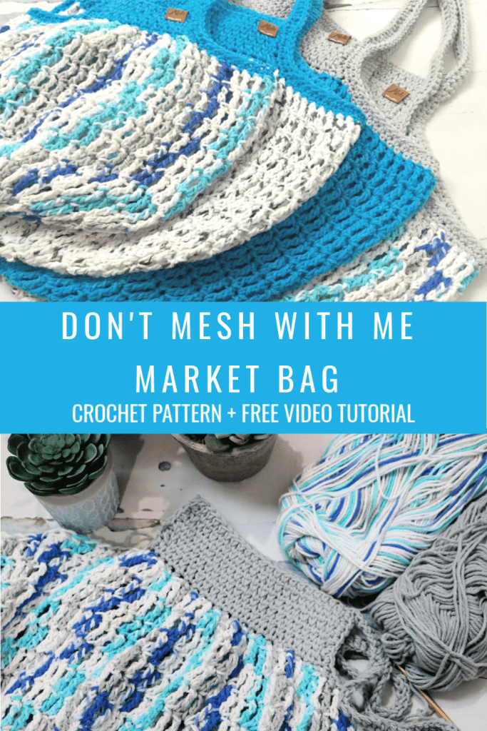 don't mesh with me market bag
