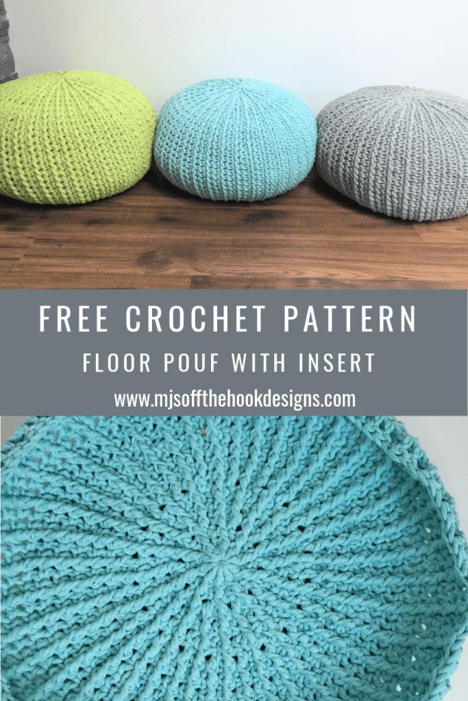 floor pouf tutorial