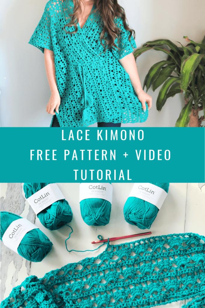 Crochet Lacy Days Kimono