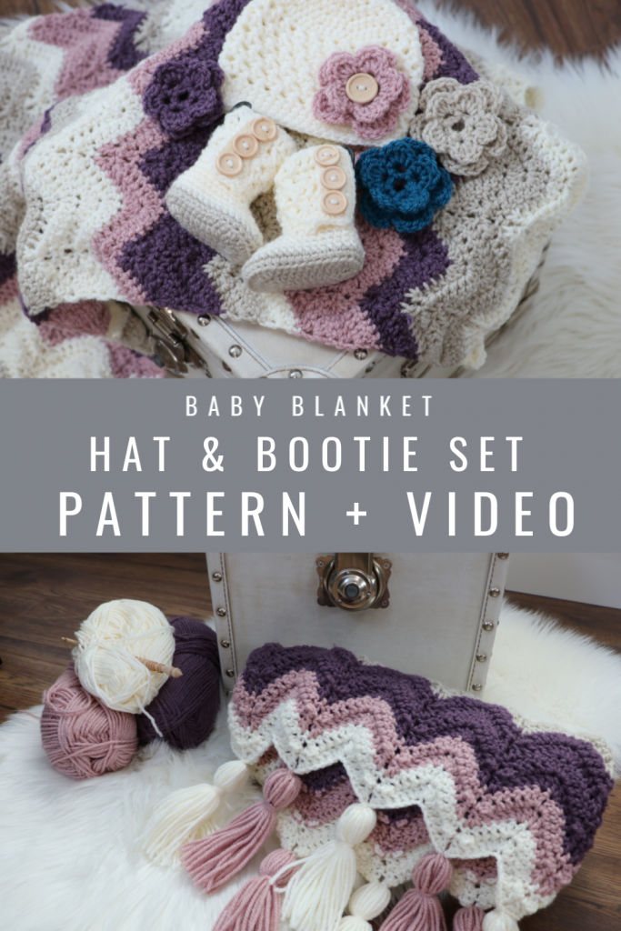 Dusty Rose Baby Set