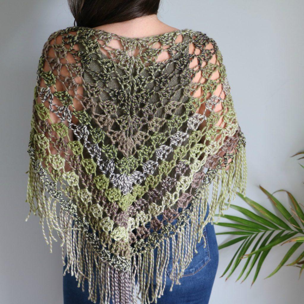 Crochet Pistachio Wrap