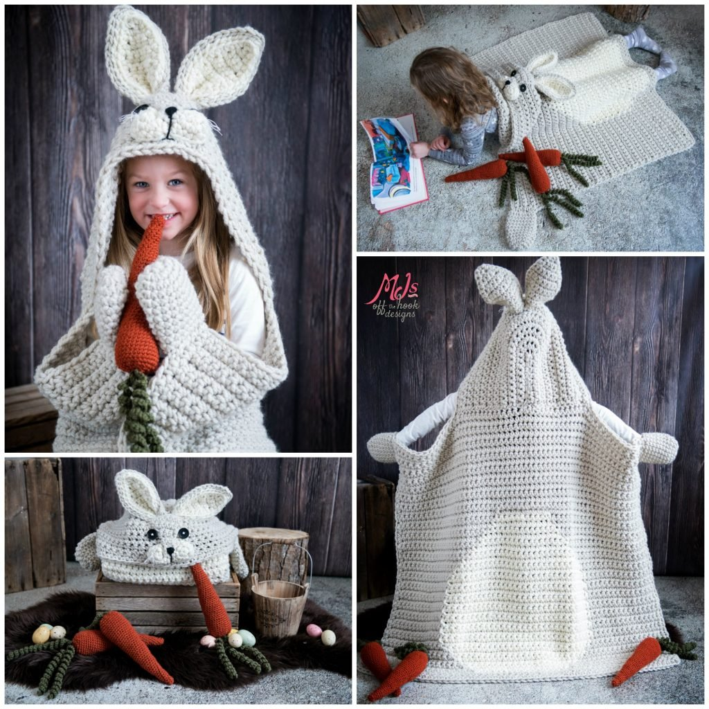 hooded woodland blanket collection