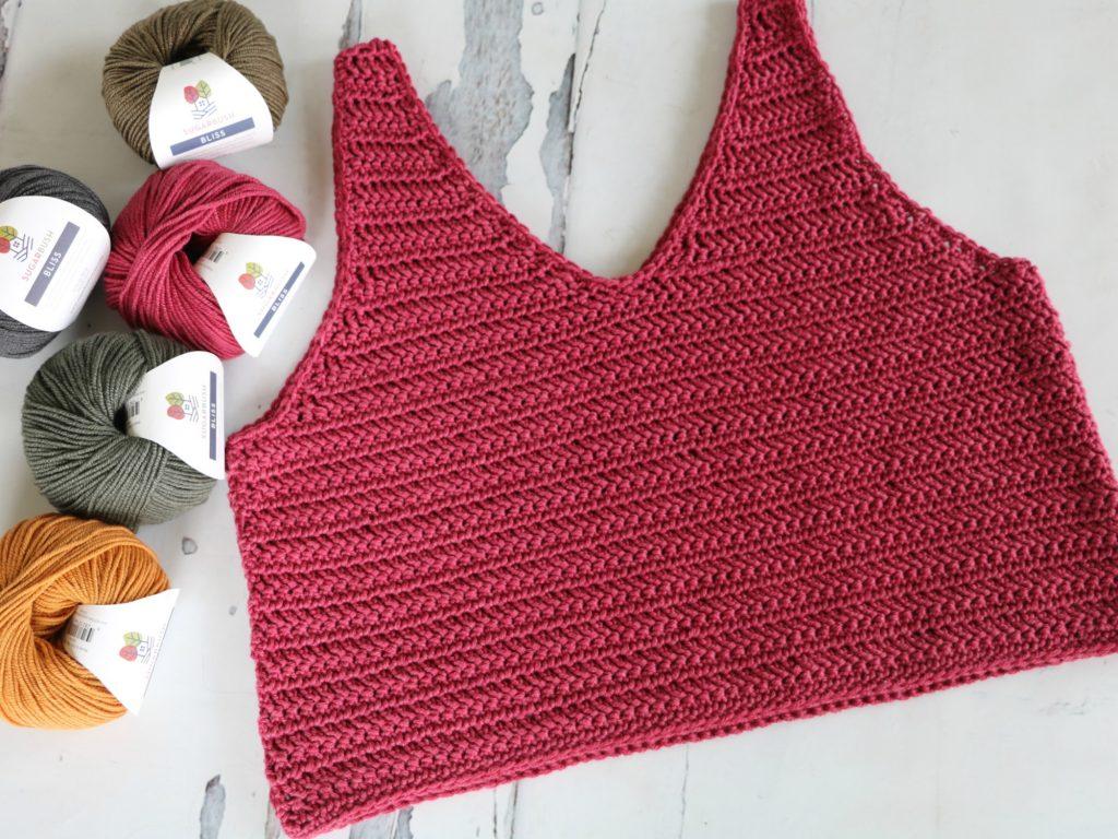 Crochet Ruby-V Tank