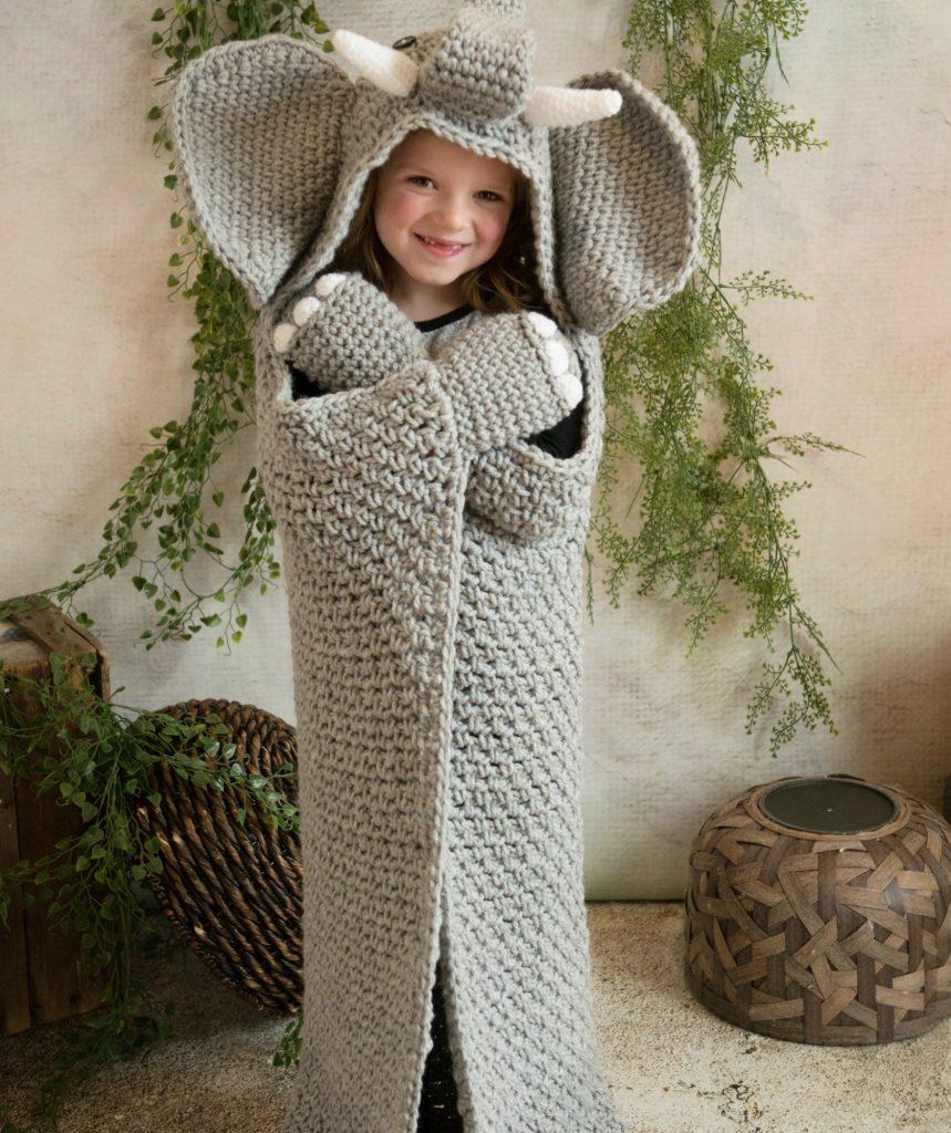 Hooded Elephant Pattern