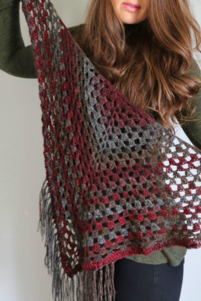 1 ball shawl