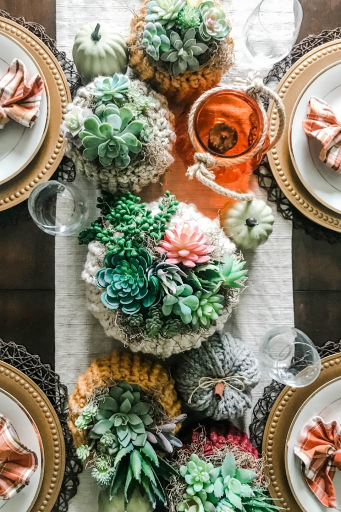 Fall decor ideas table setting